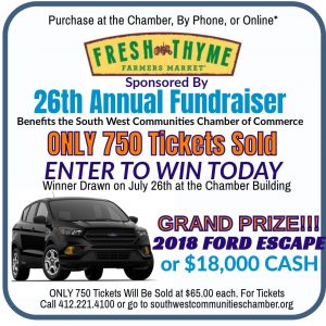 Car Giveaway! - Southwest Communities Chamber of Commerce